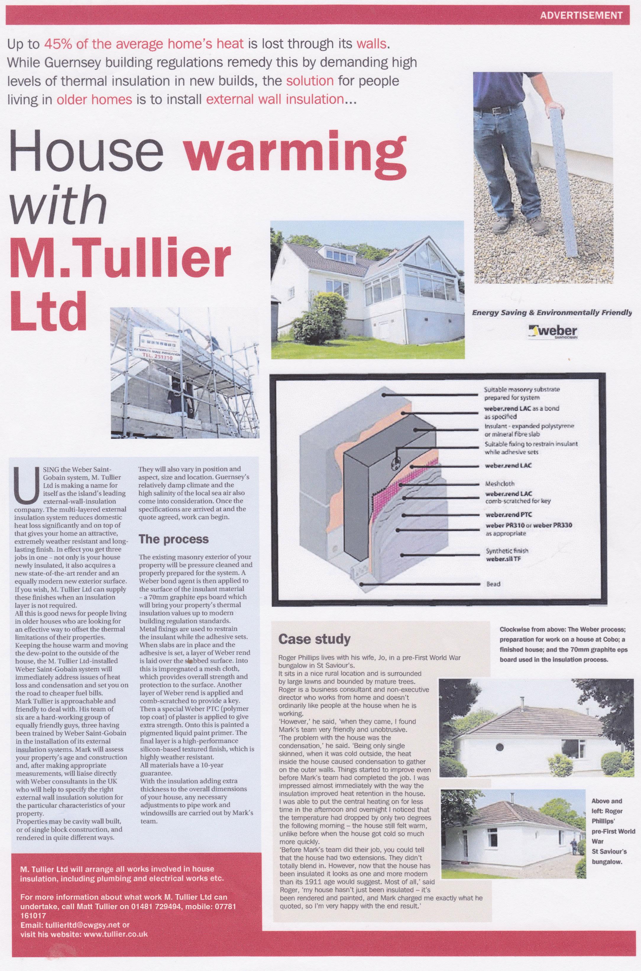 M Tullier Press Release